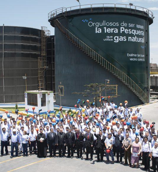 EXALMAR INAUGURA LA PRIMERA MATRIZ ENERGÉTICA DE GAS NATURAL EN CHIMBOTE